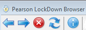 Using the lockdown browser